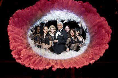 """John O'Hurley and the national tour cast of """"Chicago"""""""