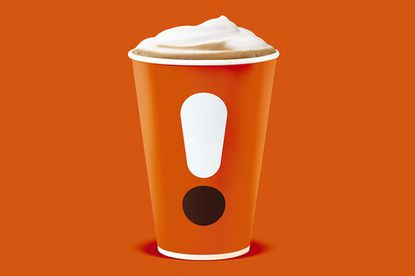 $2 lattes or cappuccinos at Dunkin' in January