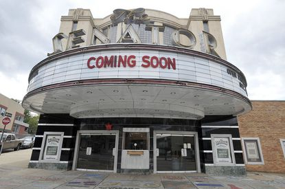 The Senator Theatre is scheduled to reopen on Oct. 10, 2013.