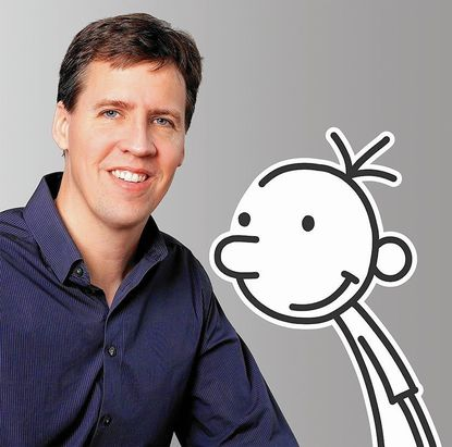 'Wimpy Kid' author, Md. native Jeff Kinney dishes on new book