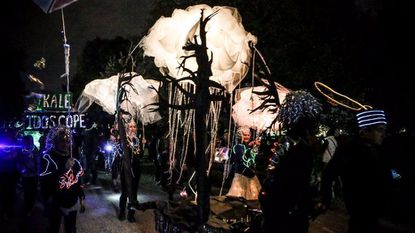This year's Halloween Lantern Parade & Festival takes place Saturday in Patterson Park.
