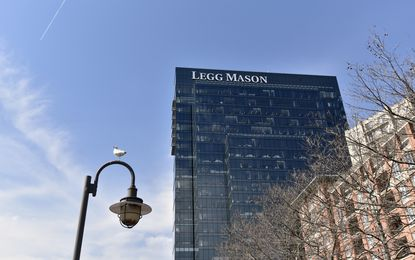 Baltimore, Md -- The Legg Mason Tower in Harbor East.