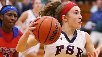 Girls Basketball: Late 3 from Brooks sends Francis Scott Key past Westminster