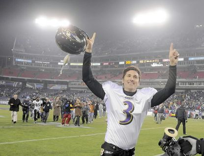 The Ravens' all-time scoring leader (1,464 points), Matt Stover carried the team for five weeks in the 2000 Super Bowl season, scoring all of the team's 42 points in October. From 1999 to 2001, Stover kicked at least one field goal in 38 consecutive games, an NFL record. His 471 career field goals rank sixth in league history.