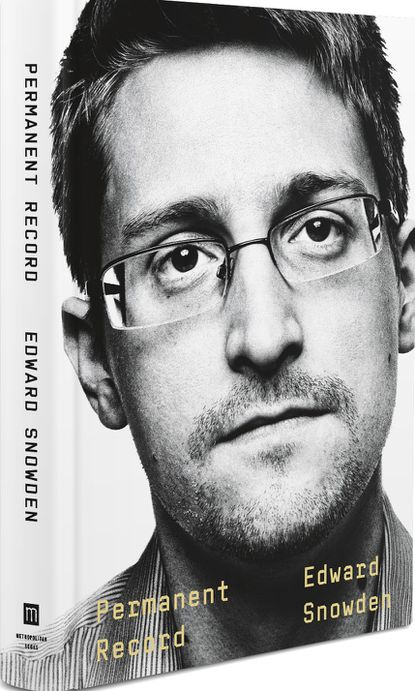 """This image provided by Metropolitan Books shows the cover of Edward Snowden's """"Permanent Record."""""""