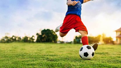After playing on a wet field, wipe down your soccer ball to prevent tracking grass clippings, pesticides, or dirt into your bag or car.