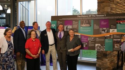 During a Sept. 29 celebration of the Orokawa Y's 60th anniversary in Towson., a historical timeline was unveiled.