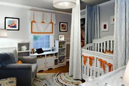 Students at Harford Community College designed a nursery for the 37th Annual Baltimore Symphony Decorators' Show House.