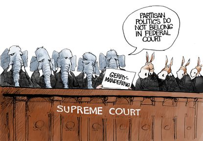 The Supreme Court on Thursday declined to set limits on partisan gerrymandering.