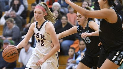 Carroll Varsity Roundup: Francis Scott Key girls hang on to clip Man Valley, stay undefeated