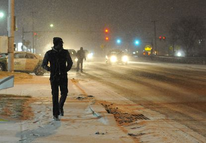 Winter storm prompts school closings and delays in Baltimore County