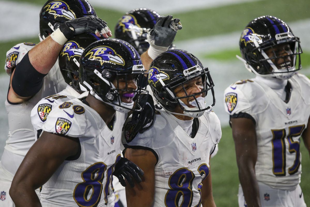 Ravens position review: Wide receivers take small steps forward, but  there's still a big need - Baltimore Sun