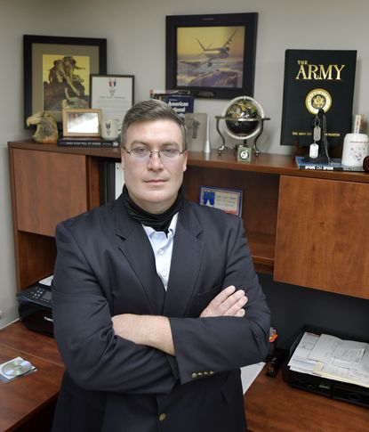 Jason Sidock is the newly hired Executive Director of the Carroll County Veterans Independence Project.