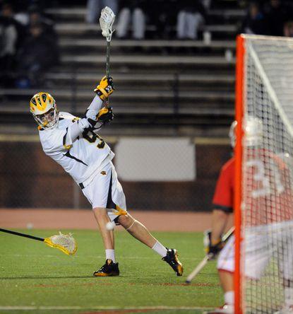 UMBC men's lacrosse team upsets No. 5 Maryland, 8-7