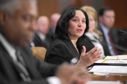 U.S. Drug Enforcement Administration Administrator Michelle Leonhart