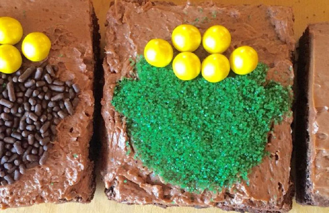 """Pot of gold brownies 