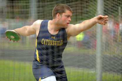 Catonsville's Zach Delker's efforts on football field, track pay off