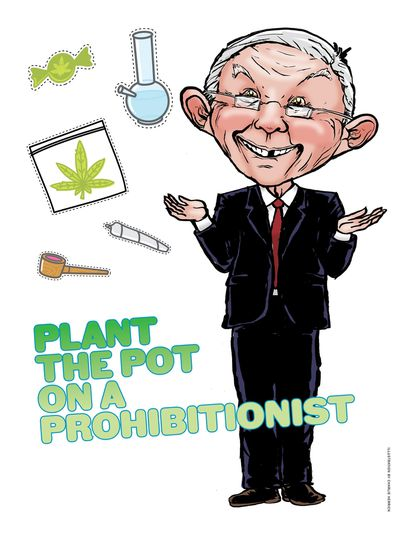 For City Paper's 2017 Weed Issue: Plant the pot on a prohibitionist