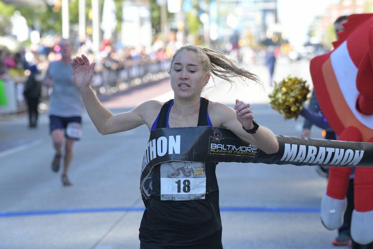 Marathon runners take top spots at Baltimore Running Festival, months after winning Baltimore 10-Miler