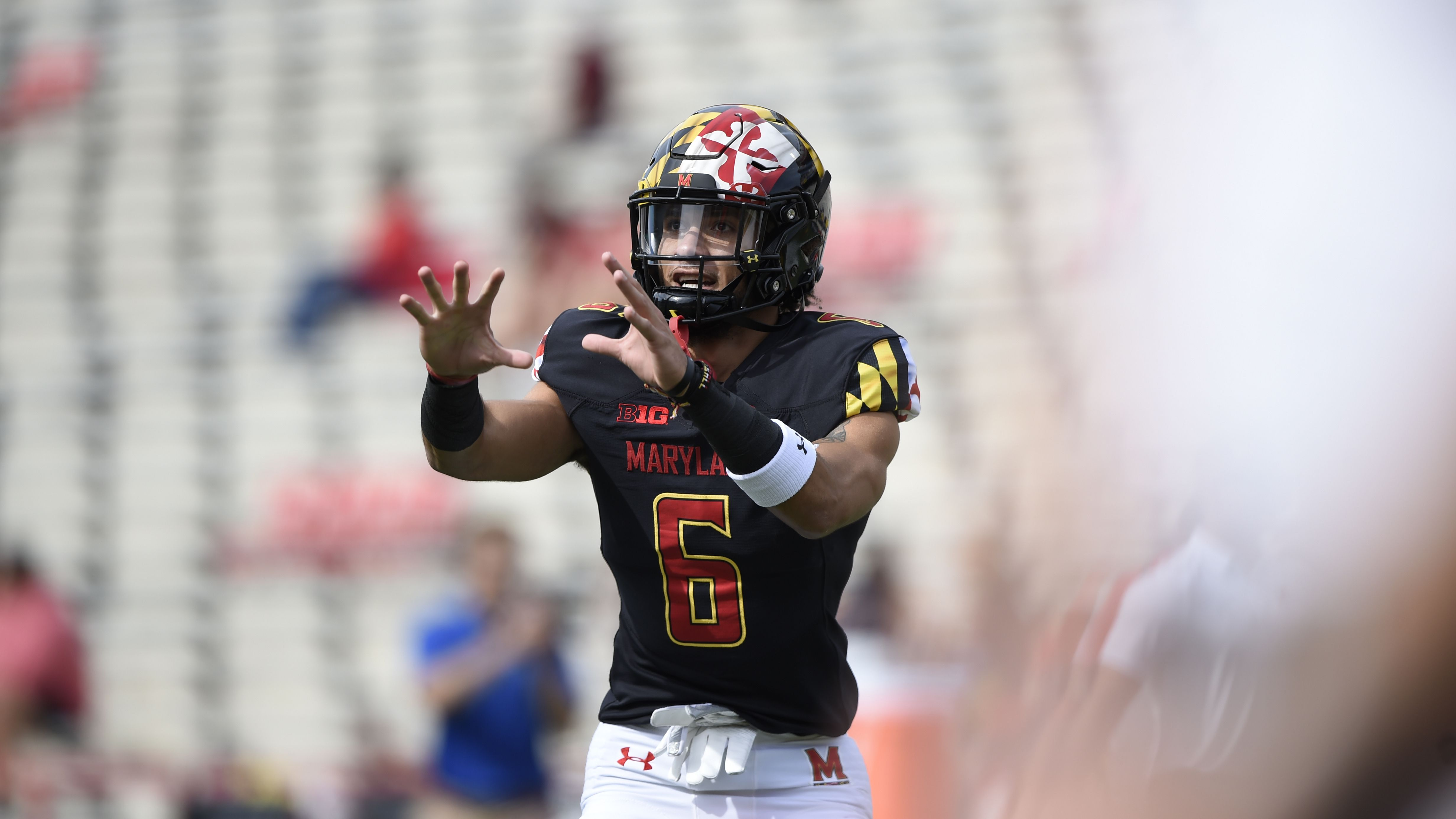 Maryland wide receiver corps takes another hit as Jeshaun Jones will miss rest of season with lower-leg injury