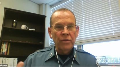 Anne Arundel County's Interim Police Chief William Lowry got a chance Tuesday to introduce himself to the public for a National Night In event, and he emphasized his love for the department and spoke about national discussions on policing.