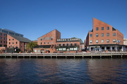 A rendering of the proposed upgrades to Brown's Wharf in Fells Point.