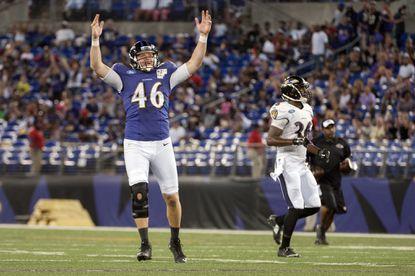 Ravens long snapper Morgan Cox named to Pro Bowl