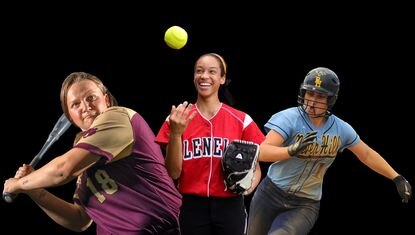 The Howard County All-Decade softball team, featuring players who played between 2010 and 2020.