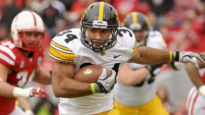 Marcus Coker rushed for 2,000 yards and 18 touchdowns in two seasons at Iowa before transferring to Stony Brook.