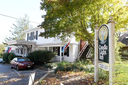 The property of the historic Candle Light Inn, which may close and be converted into a funeral home, pending a ruling by an administrative judge.
