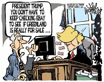 Ebay and Greenland