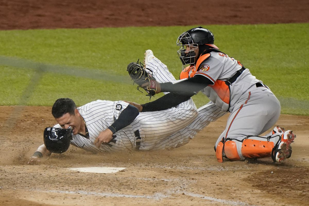 Anthony Santander's throw home seals Orioles' 4-3 win over Yankees in 11  innings, ending losing streak in New York - Baltimore Sun