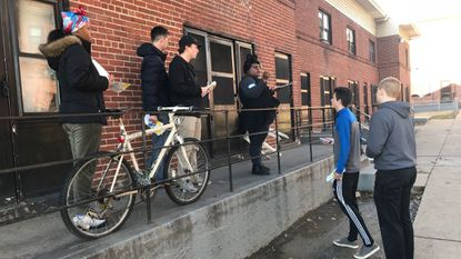 Students canvass Baltimore housing projects to deliver asthma, smoking cessation information