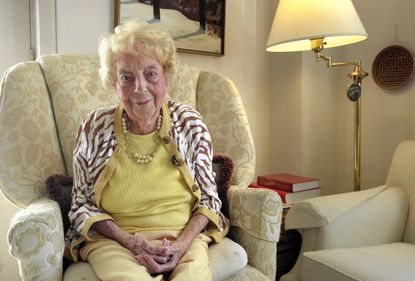Downing Kay, pictured in 2016 in her home at Pickersgill Retirement Community in Towson, just before she turned 109.