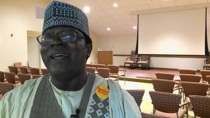 Cameroon's knight for seniors visits Fairhaven in Sykesville