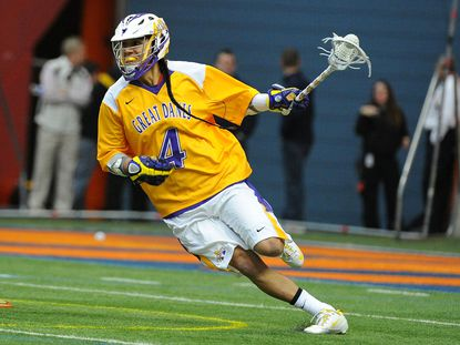 Co-Tewaaraton Award winner Lyle Thompson has become the face of college lacrosse.