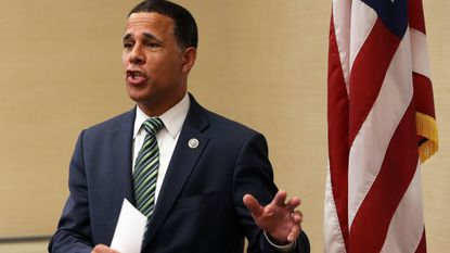 """""""It is customary in the House that when you have a tragic event happening in the life of our nation, particularly on a large scale, that we take time to remember the people who were lost,"""" Congressman Anthony Brown said."""