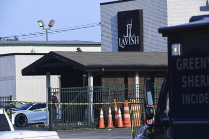Lavish Lounge in Greenville, S.C., is seen on July 5, 2020, a day after a deadly shooting there.