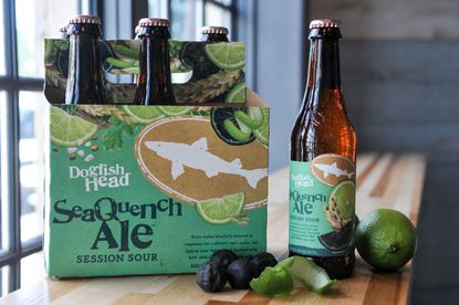 Dogfish Head's new SeaQuench Ale is a collaborative beer with the National Aquarium.
