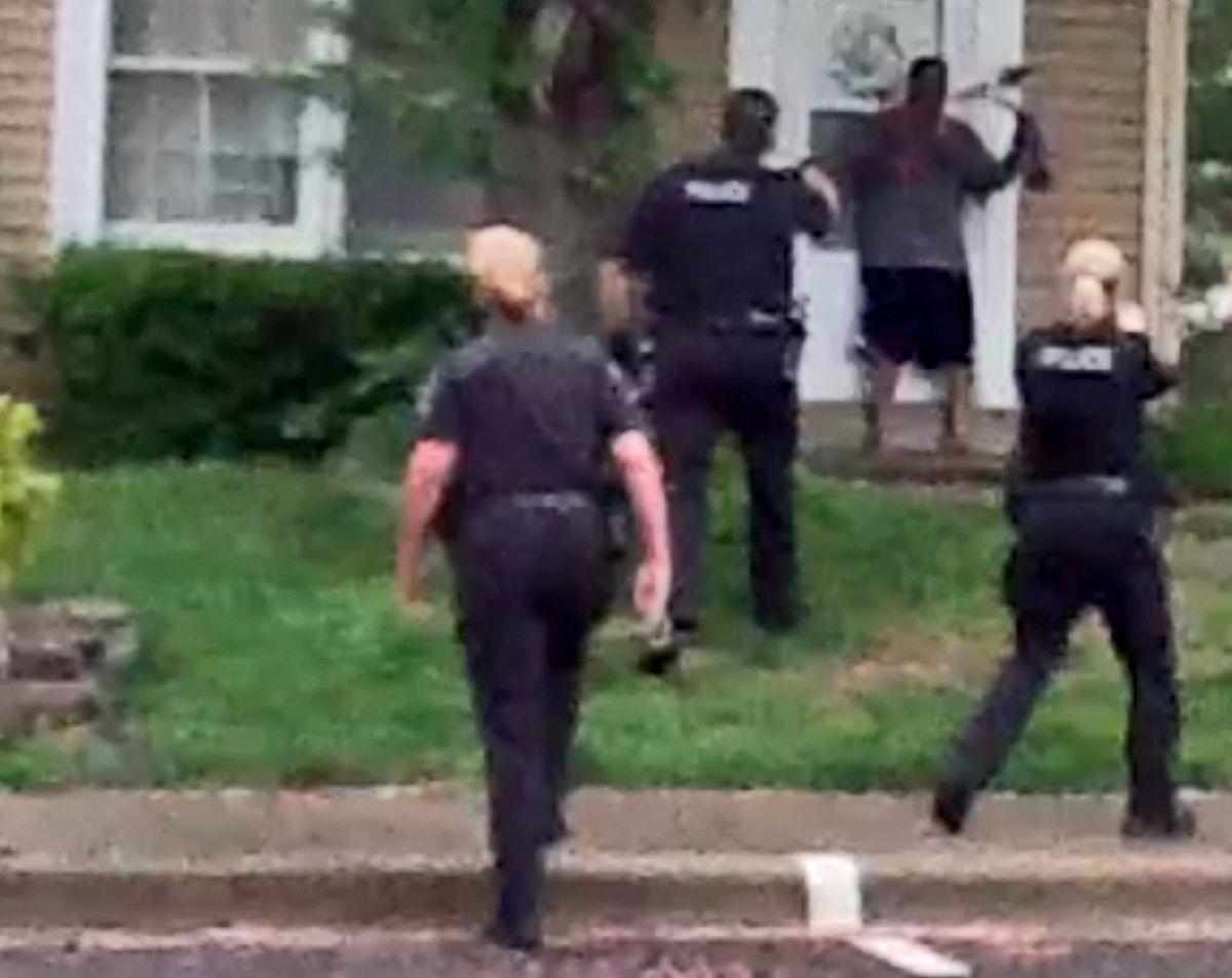 Uniform Take-Off Shoulder Patch Gaithersburg Police Maryland