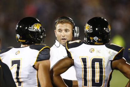 Towson coach Rob Ambrose doesn't want his team to grow complacent after starting the season 4-0.