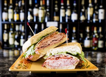 The Toscana panini ($8.99) is a favorite at Savona on Main Street in Bel Air.