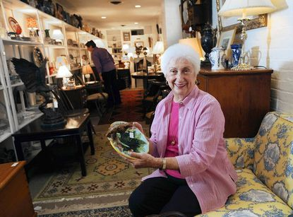 The Turnover Shop's Alice Ann Finnerty (pictured) and her daughter Alice Ann Martin are celebrating Finnerty's 35th year in business.
