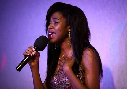 "Laurel resident NicKayla, 16, performed a show with friends June 15 at the Comfort Inn in Beltsvile. After playing Nala in ""The Lion King"" on Broadway, her career has taken off in Hollywood and television."