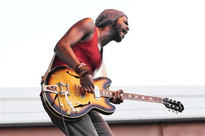"""Buzzworthy blues singer Gary Clark Jr. performs at <a href=""""http://findlocal.baltimoresun.com/listings/the-8-x10-baltimore"""">The 8x10</a> Friday."""