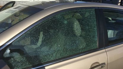 Seven cars in Aberdeen were vandalized by projectiles from a BB gun or a small handgun and police are asking anyone with information about the incidents to call police, 410-272-2121.
