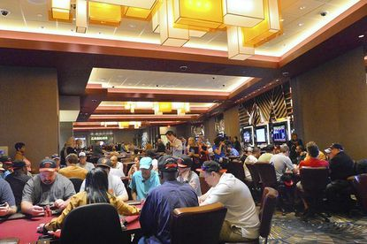 Casino patrons play at Maryland Live's new poker room, which was designed for both professionals and amateurs, Mike Smith, the casino's director of poker, said in an emailed statement.