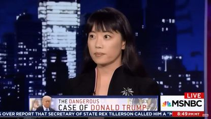 "Dr. Bandy X. Lee, editor of ""The Dangerous Case of Donald Trump,"", on MSNBC. She has been critical of the American Psychiatric Association's ""Goldwater Rule"" that forbids psychiatrists from offering a professional opinion about public figures whom they have not examined. (MSNBC via YouTube)."
