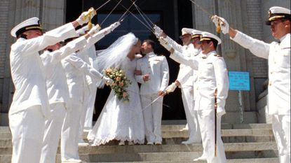 Naval Academy takes a bite out of vendors' commissions for chapel weddings