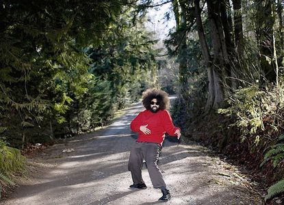 Reggie Watts eccentric blend of comedy and music arose from the unlikely locale of Great Falls, Mont.